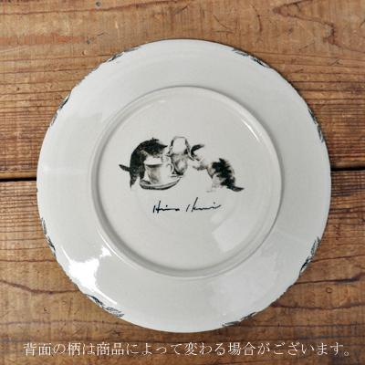 画像4: 【再入荷】Ikumi Hiruma(比留間 郁美)/ Bonne Soupe プレート φ21cm:猫A