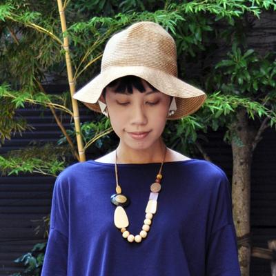 画像1: SUBLiME(サブライム)/ Hold Braid Hat( long brim )