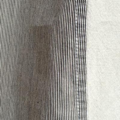 画像4: 【 再入荷 】FACTORY(ファクトリー) / 綿×ペルー綿 ピンストライプ  ワイドギャザーパンツ