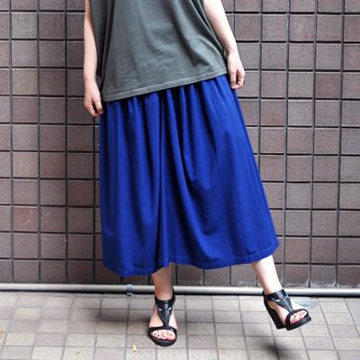 画像1: 【 SALE 】¥15,000→¥13,000 / FACTORY(ファクトリー)/ バンブーコットン ギャザースカート