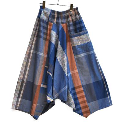 画像1: tamaki niime(玉木新雌) / only one tarun pants cotton(オンリーワン タルンパンツ:コットン)・ロングレングス