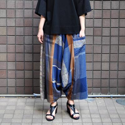 画像3: tamaki niime(玉木新雌) / only one tarun pants cotton(オンリーワン タルンパンツ:コットン)・ロングレングス