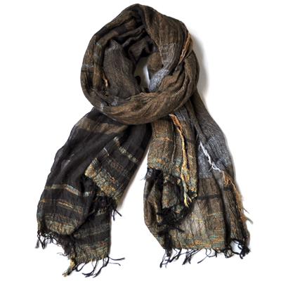 画像1: tamaki niime(玉木新雌) / roots shawl cotton(ルーツショール:コットン)ビッグ(大判サイズ)