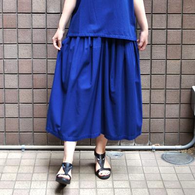 画像3: 【 SALE 】¥15,000→¥13,000 / FACTORY(ファクトリー)/ バンブーコットン ギャザースカート