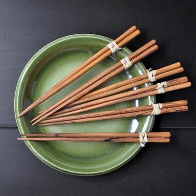 画像1: オリーブの木の箸