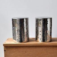 工房アイザワ / Black Piment ステンレス ティーキャディー(茶筒)