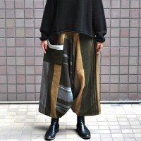 tamaki niime(玉木新雌) / only one tarun pants wool(オンリーワン タルンパンツ:ウール)・ロング
