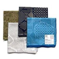 十布(テンプ) /  福島の刺子織ハンカチ