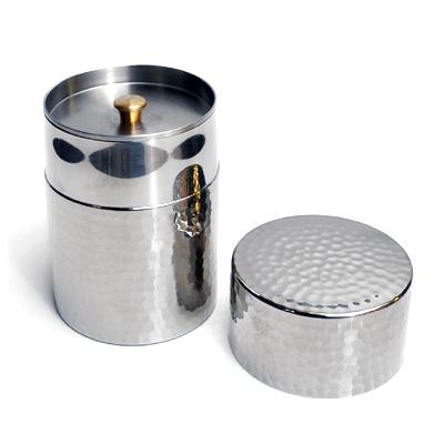 画像4: 工房アイザワ / Black Piment ステンレス ティーキャディー(茶筒)