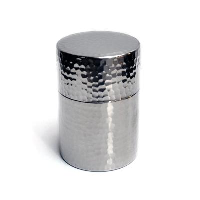 画像3: 工房アイザワ / Black Piment ステンレス ティーキャディー(茶筒)