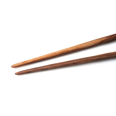 画像2: オリーブの木の箸
