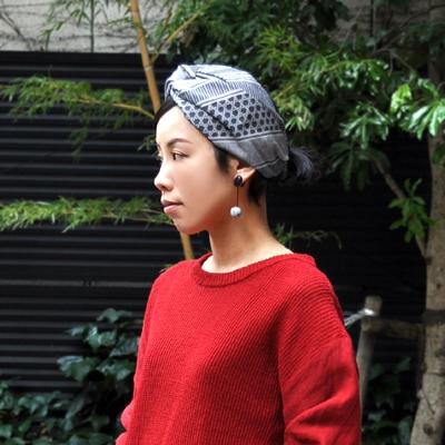 画像5: KINARIYA(キナリヤ)/ ヘアバンド(ストライプ・グレー)