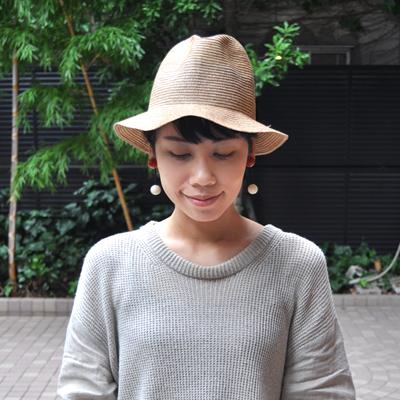 画像1: 【 SALE20%OFF 】¥10,500→¥8,400 / SUBLiME(サブライム)/ Hold Braid Hat( short brim )
