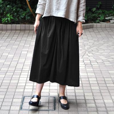 画像3: FACTORY(ファクトリー)/   綿40/2 ギャザースカート