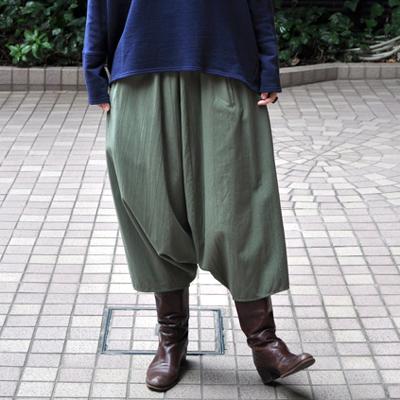 画像3: 【 SALE 】¥17,000→¥13,800 / FACTORY(ファクトリー)/   綿40/2 サルエルパンツ