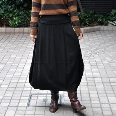 画像4: FACTORY(ファクトリー)/ バンブーウール バルーンスカート