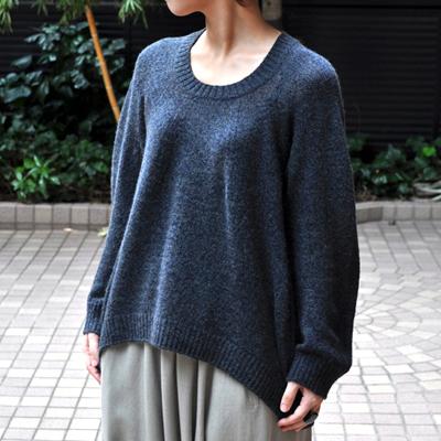 画像4: 【 SALE 30%OFF】¥19,000→¥13,300 / FACTORY(ファクトリー)/ キャメル100% 裾カーブセーター