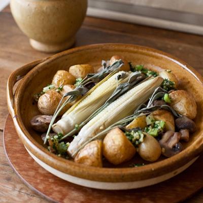 画像1: 4th-market  / Cacerola(カセロラ)グリルパン【 直火・オーブンOK 】