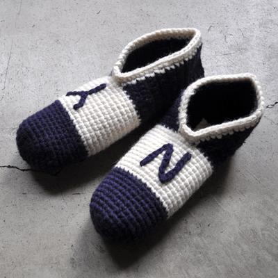 画像2: 【 SALE 】¥3,400→¥2,210 / SUBLiME(サブライム)/ hand knit room shoes(ニットルームシューズ)
