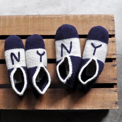 画像1: 【 SALE 】¥3,400→¥2,210 / SUBLiME(サブライム)/ hand knit room shoes(ニットルームシューズ)