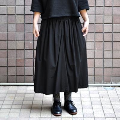 画像2: 【 2018SS 】FACTORY(ファクトリー)/ バンブーコットン ギャザースカート