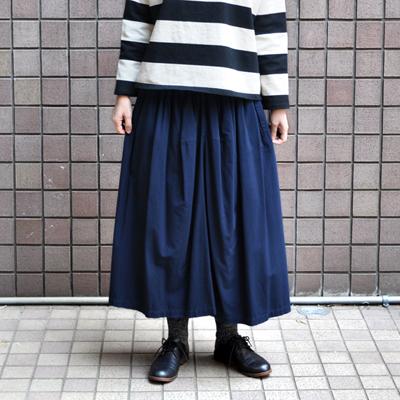 画像3: 【 2018SS 】FACTORY(ファクトリー)/ バンブーコットン ギャザースカート