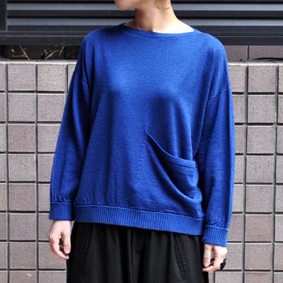 画像2: 【 2018SS 】FACTORY(ファクトリー)/ コットンリネン ワイドポケットセーター