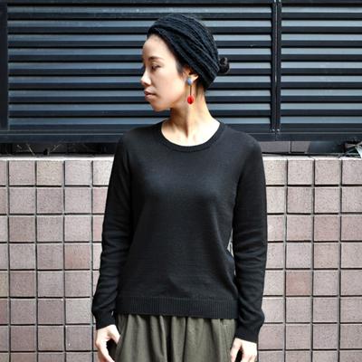 画像3: 【 2018SS 】FACTORY(ファクトリー)/ コットンリネン  クルーネックセーター(長袖)