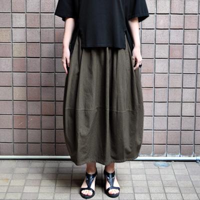 画像2: 【 SALE 】¥19,000→¥15,200 / FACTORY(ファクトリー)/ 千鳥格子 バルーンスカート(ペルーコットン)