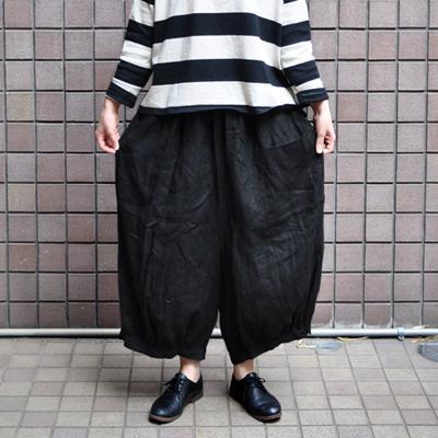 画像3: 【 SALE 】¥8,900→¥6,230 / ICHI(イチ )/ リネン 前ポケット バルーンワイドパンツ