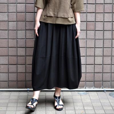 画像2: 【 2018SS 】FACTORY(ファクトリー)/ バンブーコットン バルーンスカート