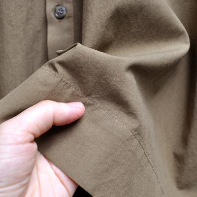 画像4: 【 別注アイテム 】FACTORY(ファクトリー)/  カジュアルワイド半袖シャツ(約5〜6分袖)ペルーコットン