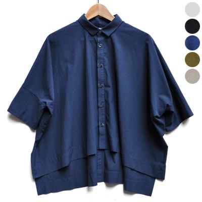 画像5: 【 別注アイテム 】FACTORY(ファクトリー)/  カジュアルワイド半袖シャツ(約5〜6分袖)ペルーコットン