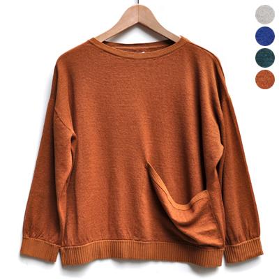 画像3: 【 SALE 】¥17,000→¥13,600 / FACTORY(ファクトリー)/ コットンリネン ワイドポケットセーター