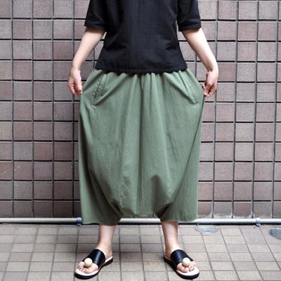 画像2: 【 SALE】¥17,000→¥11,900 / FACTORY(ファクトリー)/   綿40/2 サルエルパンツ