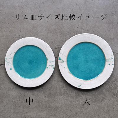 画像5: 雅峰窯 ・市野健太  / リム皿(中)