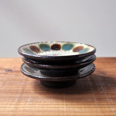画像4: 工房マチヒコ / 3.5寸皿(点打ち×飛び鉋)