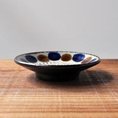 画像2: 工房マチヒコ / 3.5寸皿(点打ち×飛び鉋)