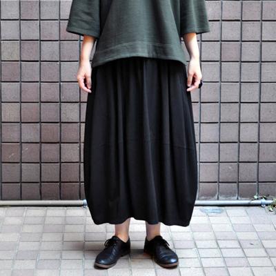 画像1: FACTORY(ファクトリー)/ バンブーコットン バルーンスカート