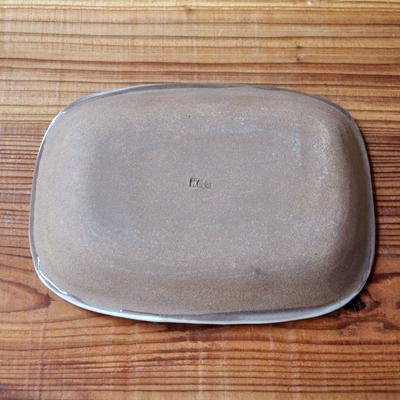 画像3: 丹窓窯 / スリップ 長方鉢