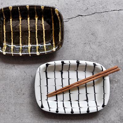画像2: 丹窓窯 / スリップ 長方鉢