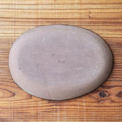画像3: 丹窓窯 / スリップ 楕円鉢