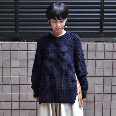 画像2: 【 SALE 】¥25,000→¥17,500 / FACTORY(ファクトリー)/ キャメル バイカラーセーター