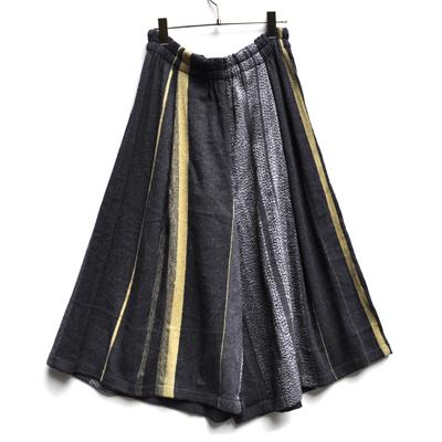 画像1: tamaki niime(玉木新雌) / only one  wide pants wool(オンリーワン ワイドパンツ:ウール)・ショート