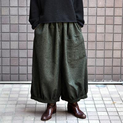 画像4: ICHI(イチ )/ 前ポケット エターミン バルーンワイドパンツ