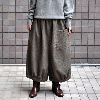 画像3: ICHI(イチ )/ 前ポケット エターミン バルーンワイドパンツ