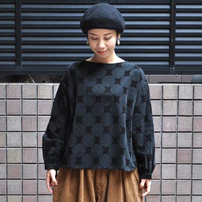 画像2: 【 SALE 】¥8,900→¥6,230 / ICHI(イチ )/ コーデュロイドットプルオーバー