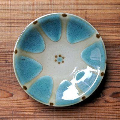 画像1: ノモ陶器製作所 / 6寸皿・オーグスヤー