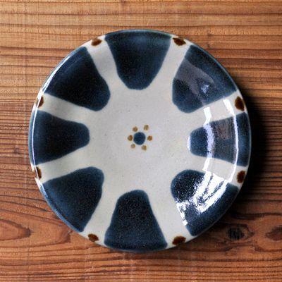 画像1: ノモ陶器製作所 / 6寸皿・ゴス