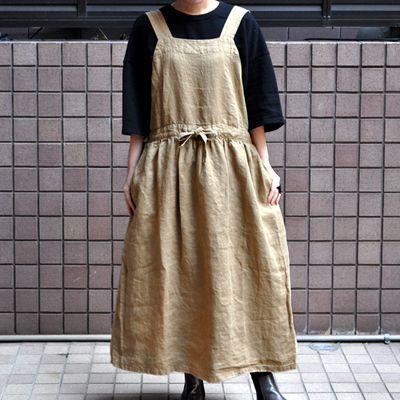 画像1: 【2019SS】ICHI Antiquite's(イチ アンティークス)/ リネンチノ2WAYドレス
